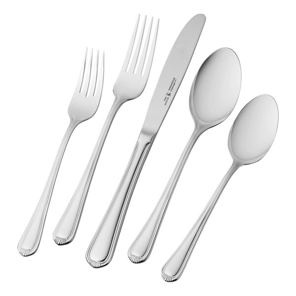 Alcea 65 Piece 18/10 Stainless Steel Flatware Set by J.A. Henckels International