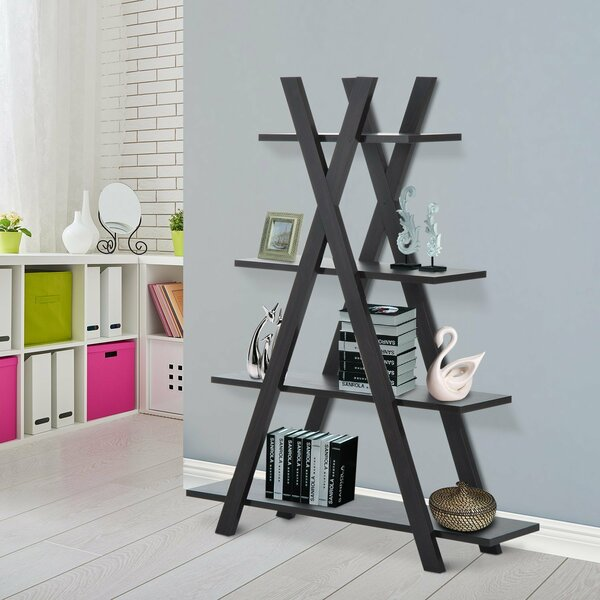 Sven Display Shelf Etagere Bookcase by Wrought Studio