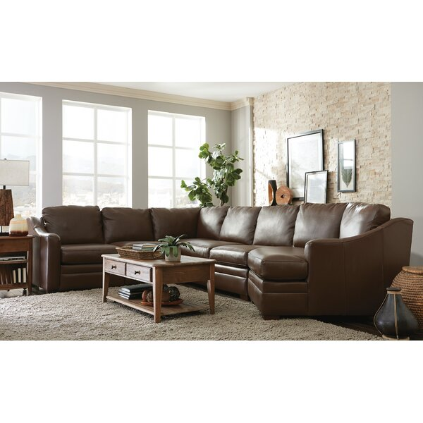 Ellsworth Leather 150 Left Hand Facing Sectional