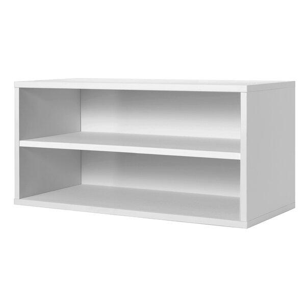 Carrabba Storage Cube Standard Bookcase by Hazelwo