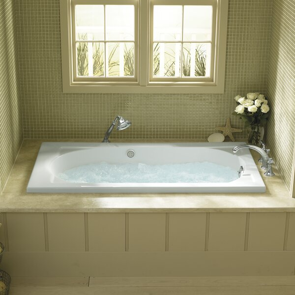 Devonshire Alcove 60 x 32 Soaking Bathtub by Kohler
