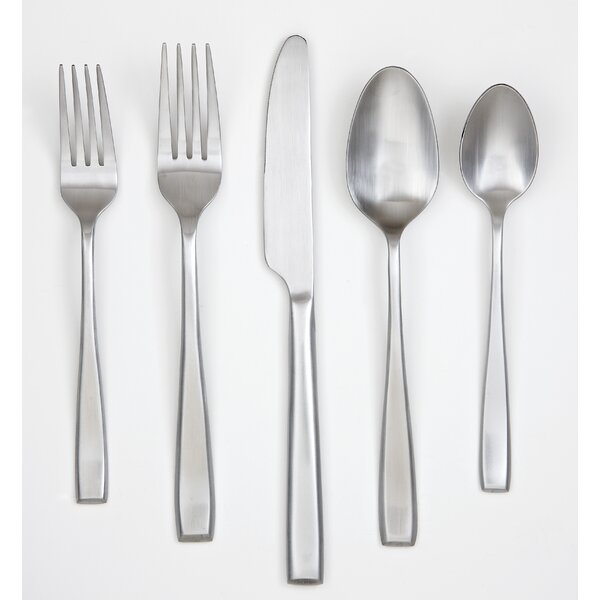 Payten Satin 60 Piece Flatware Set by Cambridge Silversmiths