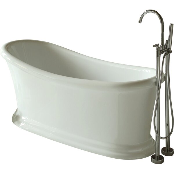 67.5 x 28 Soaking Bathtub by Signature Bath