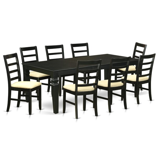 Celeste 9 Piece Dining Set by Red Barrel Studio
