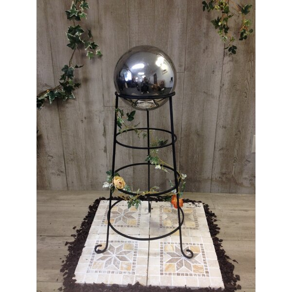 Tall Gazing Globe Stand by Pomegranate Solutions, LLC
