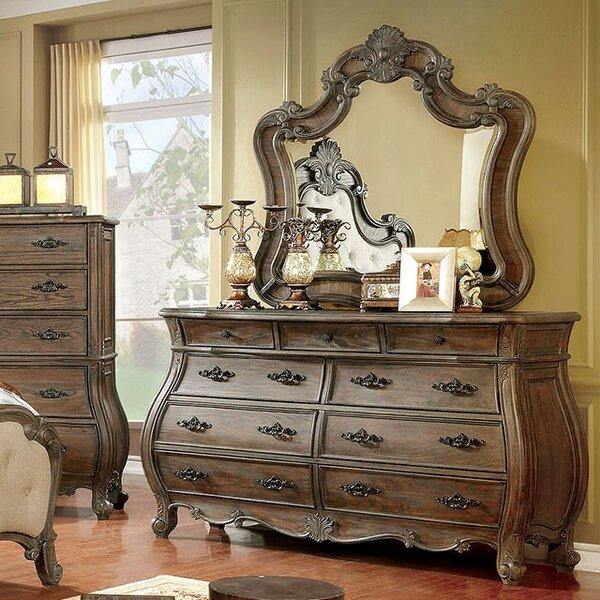 Kaylynn 9 Drawer Double Dresser by Rosdorf Park