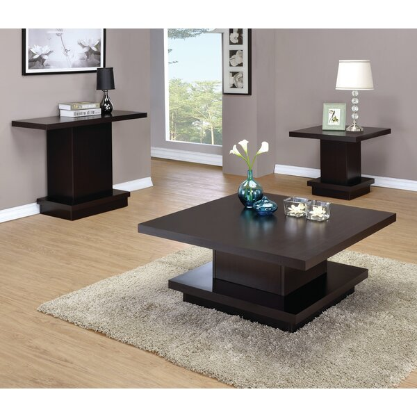 Kassidy 3 Piece Coffee Table Set by Zipcode Design