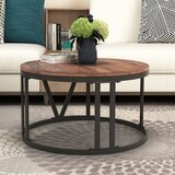 Seamon Frame Coffee Table by Union Rustic