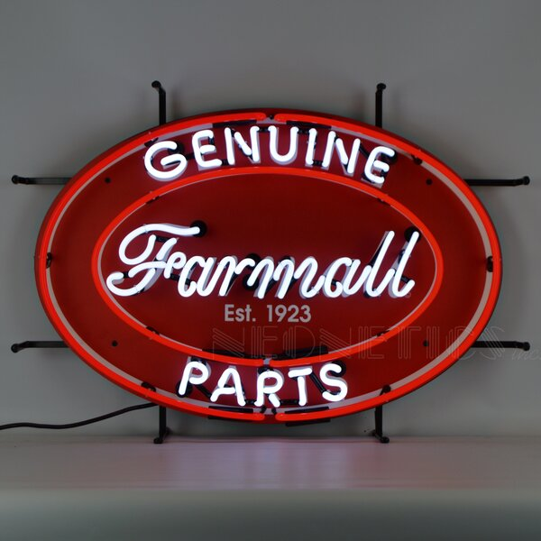 Farmall Genuine Parts Neon Sign by Neonetics