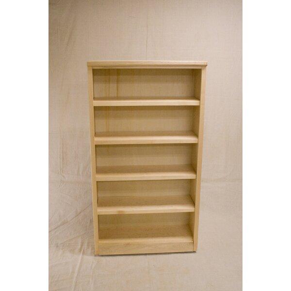 Cuomo 3 Shelf Urban Maple Standard Bookcase by Darby Home Co