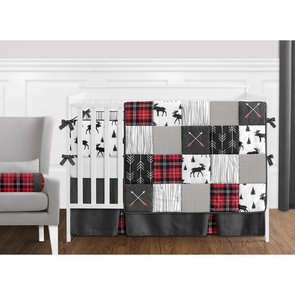 Rustic Patch 9 Piece Crib Bedding Set by Sweet Jojo Designs