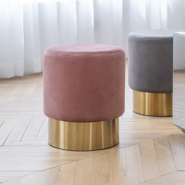 Ammons Upholstered Ottoman By Everly Quinn