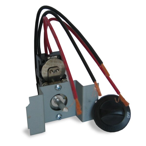The Perfectoe Under Cabinet Series Double Pole Thermostat Kit by Cadet
