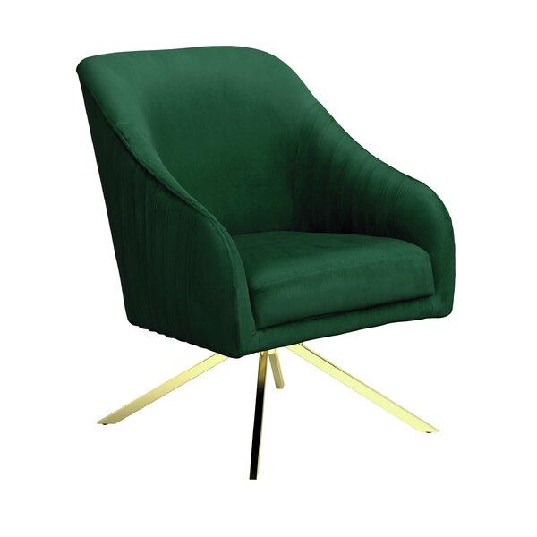 Vitya Swivel Side Chair By Everly Quinn