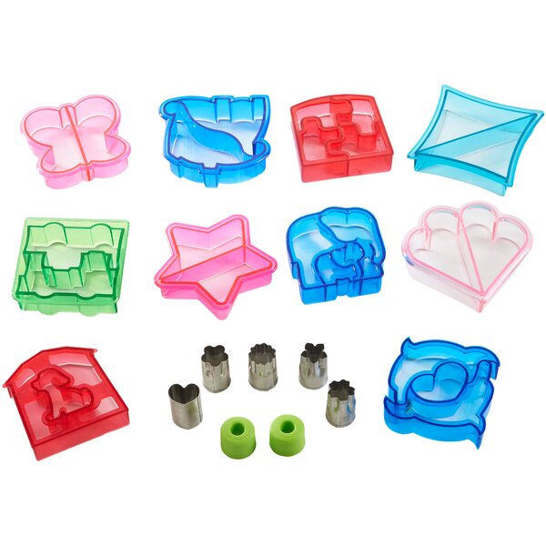 15 Piece Sandwich and Vegetable Cutter Set by VonShef