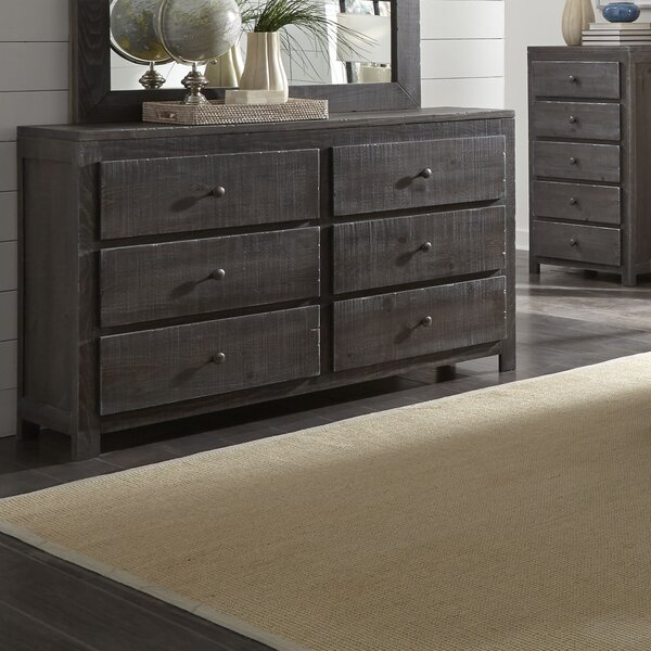 Sedgefield 6 Drawer Double Dresser by Three Posts
