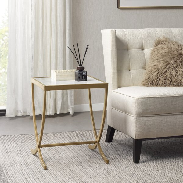 Review Martha Stewart Kadence End Table