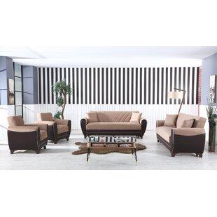 Siella 4 Piece Living Room Set by Wrought Studio™