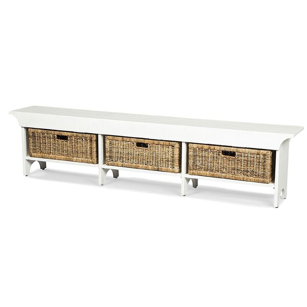Andrew Solid Wood Storage Bench by Gracie Oaks