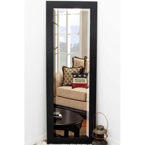 Beveled Black Wall Mirror by Brayden Studio