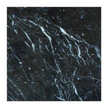 Nero Marquina 3 x 6 Marble Subway Tile in Black by Seven Seas