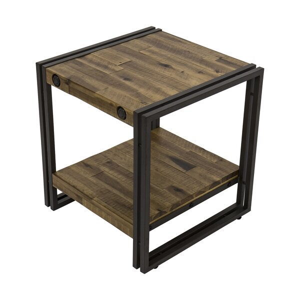 Pettit End Table By 17 Stories