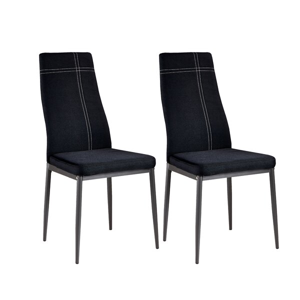 Best #1 Gonzalo Modern Upholstered Dining Chair (Set Of 4) By Zipcode Design Best