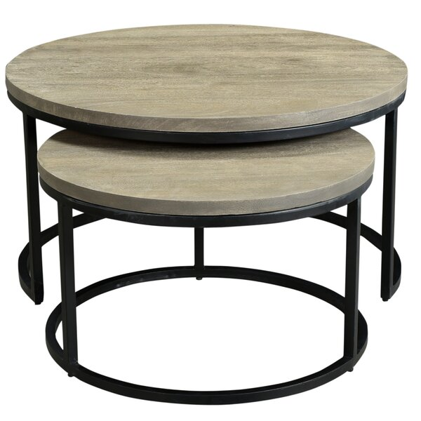 Beland 2 Piece Nesting Tables by Foundry Select