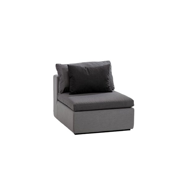 Malani Armless Patio Chair with Sunbrella Cushions by Brayden Studio