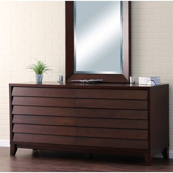 Blaine 6 Drawer Standard Dresser by Bayou Breeze
