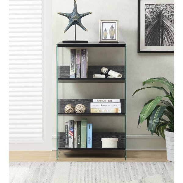 Bolander 4 Tier Standard Bookcase by Wrought Studio
