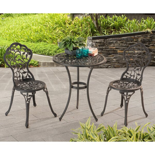 Brockington 3 Piece Bistro Set By Charlton Home