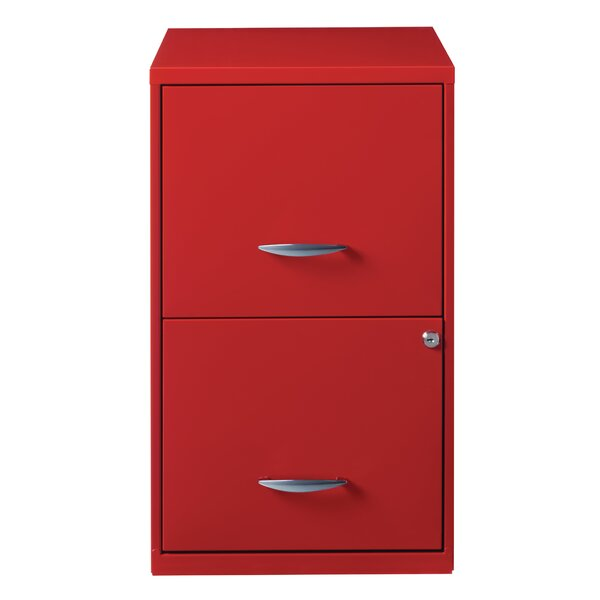 Zimmer Deep 2-Drawer Vertical Filing Cabinet by Symple Stuff
