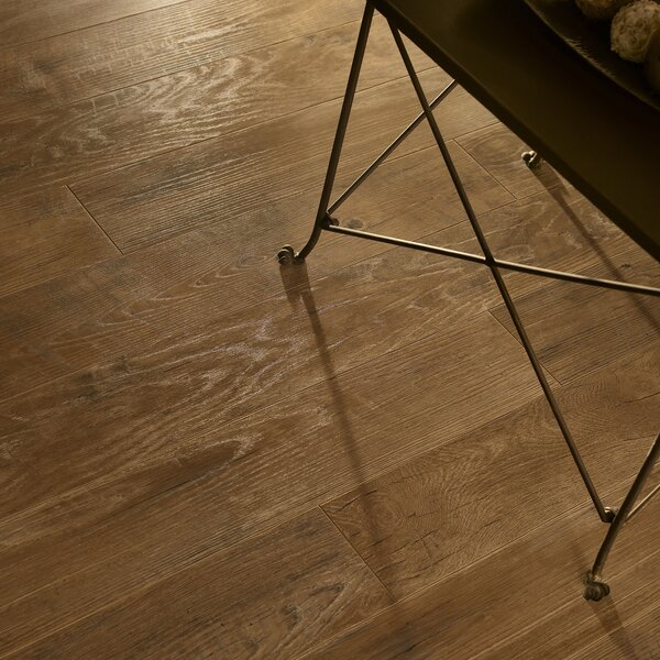 Restoration 6'' x 51'' x 12mm Oak Laminate Flooring in Timber by Mannington