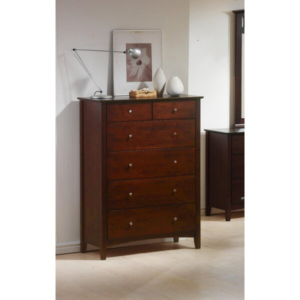 Dighton 6 Drawer Chest By Winston Porter