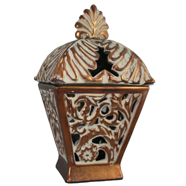 Stoneware Lantern by Astoria Grand