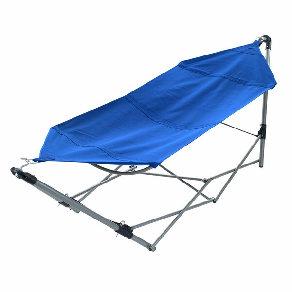 Zachary Camping Hammock with Stand by Freeport Park