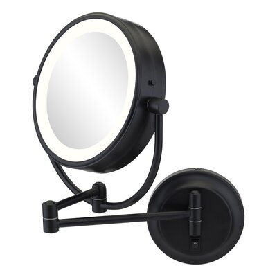 15x Lighted Magnifying Mirror | Wayfair