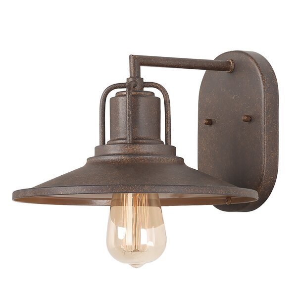 Mcclean 1-Light Outdoor Wall Sconces by Williston Forge