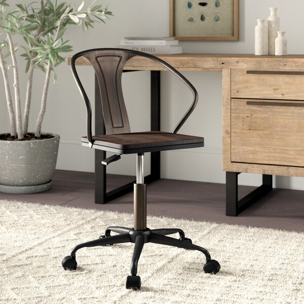 Aledo Bevers Industrial Office Chair by Greyleigh