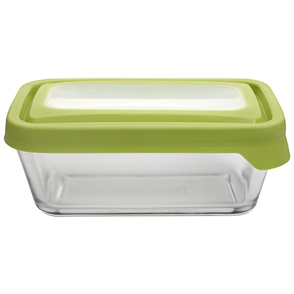TrueSeal 4.75 Cup Rectangular Baking Dish (Set of 4) by Anchor Hocking
