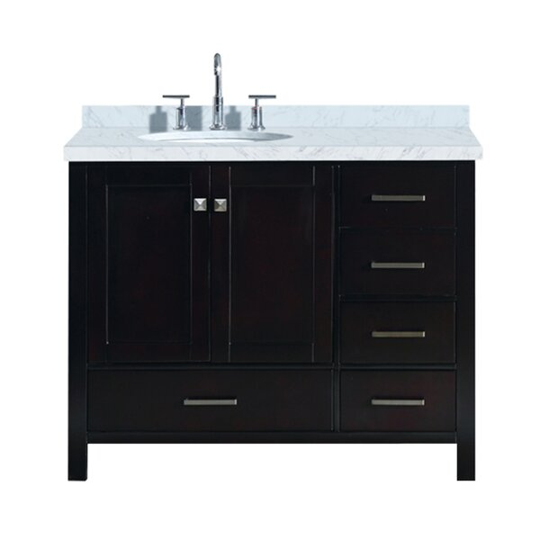 Utley Modern 43 Rectangular Single Bathroom Vanity Set by Andover Mills