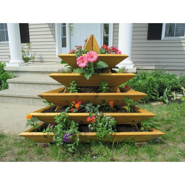 4 ft x 4 ft Cedar Vertical Garden by Infinite Ceda