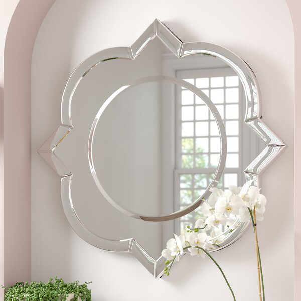 Au Modern Wall Mirror by House of Hampton