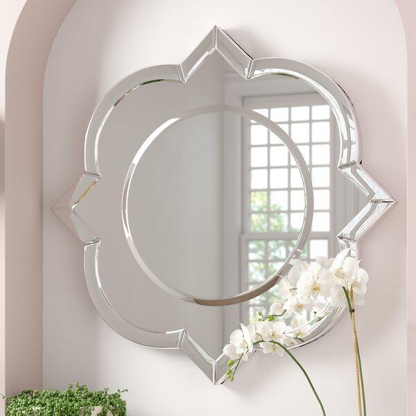 Au Modern Wall Mirror by House of Hampton