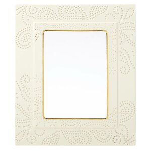 Pierced Paisley Picture Frame
