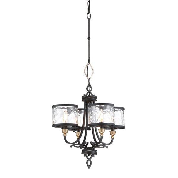 Moats 4-Light Shaded Classic / Traditional Chandelier By Charlton Home