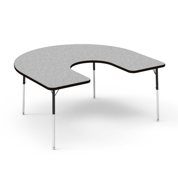 4000 Series 66 x 60 Horseshoe Activity Table by Virco