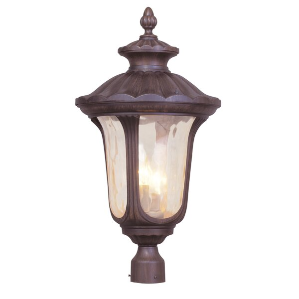 Gunnell Outdoor 3-Light Lantern Head by Three Posts