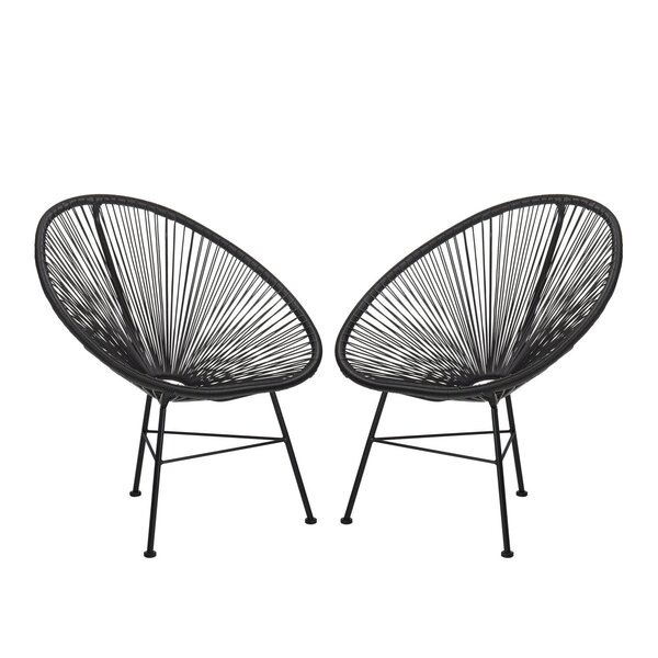 Dawud Patio Chair (Set of 2) by Wrought Studio